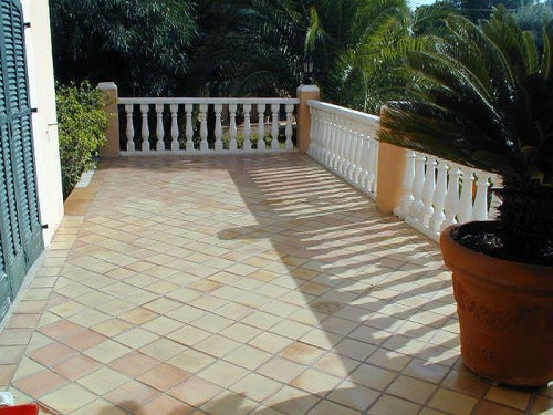 Terracottafläche Terrasse